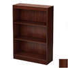 South Shore Furniture Royal Cherry 45-in 3-Shelf Bookcase