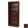South Shore Furniture Royal Cherry 71.25-in 5-Shelf Bookcase