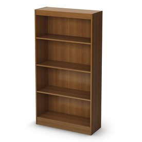 South Shore Furniture Morgan Cherry 58-in 4-Shelf Bookcase