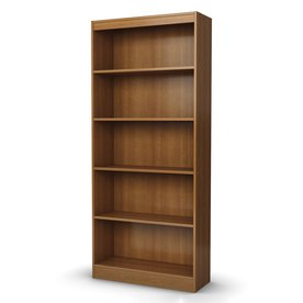 South Shore Furniture Morgan Cherry 5-ft 11.25-in 5-Shelf Bookcase