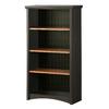 South Shore Furniture Gascony Ebony 58-1/8-in 4-Shelf Bookcase