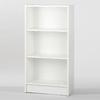 Tvilum Dylan White 45-3/4-in 3-Shelf Bookcase