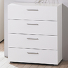 Tvilum Austin White 4-Drawer Dresser