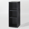Tvilum Fairfax Black 48-in 3-Shelf Bookcase