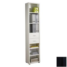 Tvilum Fairfax Black 87.25-in 5-Shelf Bookcase