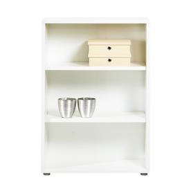 shop tvilum fairfax white 45 in 3 shelf bookcase at. Black Bedroom Furniture Sets. Home Design Ideas