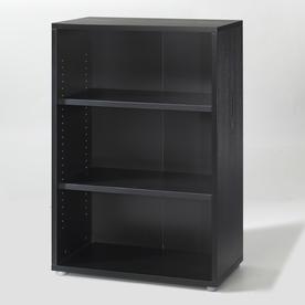 Tvilum Fairfax Black 45-in 3-Shelf Bookcase