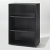 Tvilum Fairfax Black 45-in 3-Shelf Bookcase