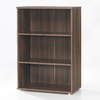 Tvilum Cullen Walnut 45.75-in 3-Shelf Bookcase