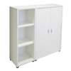 Tvilum Fairfax White 45-in 6-Shelf Bookcase