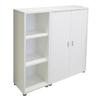 Tvilum Fairfax White 45-in 6-Shelf Bookcase