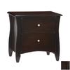 Night & Day Furniture Spices Dark Chocolate Nightstand