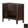 Night & Day Furniture Zest Dark Chocolate Nightstand