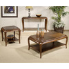 Somerton Home Furnishings Marin Warm Brown Accent Table Set