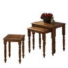 Monarch Specialties Dark Oak Oak Accent Table Set