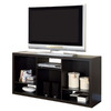 Monarch Specialties Cappuccino 56-in W x 27-in H x 15-in D 6-Shelf Bookcase