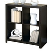 Monarch Specialties Cappuccino 33.5-in 4-Shelf Bookcase