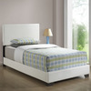 Monarch Specialties White Twin Low-Profile Bed