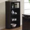 Monarch Specialties Cappuccino 48-in 4-Shelf Bookcase