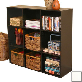Venture Horizon White 39-in W x 36-in H x 11.5-in D 9-Shelf Bookcase