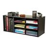 Venture Horizon Black 31-in W x 13-in H x 12-in D 9-Shelf Bookcase