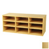 Venture Horizon Maple 13-in 9-Shelf Bookcase