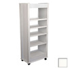 Venture Horizon White 59.5-in 5-Shelf Bookcase
