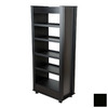 Venture Horizon Black 59.5-in 5-Shelf Bookcase
