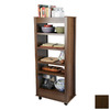 Venture Horizon Dark Walnut 59.5-in 5-Shelf Bookcase