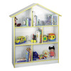 Venture Horizon Doll House Kids White 45-in W x 55-in H x 12-in D 6-Shelf Bookcase