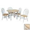 TMS Furniture White Dining Set