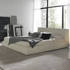 Rossetto USA Coco Brown Queen Platform Bed