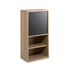 Nexera Infini-T 37.88-in 4-Shelf Bookcase