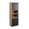 Nexera Infini-T 56-in 6-Shelf Bookcase