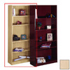 Nexera Natural Maple 71.5-in 5-Shelf Bookcase