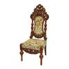 Oriental Furniture Classic European Dark Stain Accent Chair