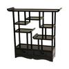 Oriental Furniture Netsuke Rosewood 20-in W x 20-in H x 5-in D 5-Shelf Bookcase