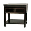 Oriental Furniture Rosewood Furniture Antique Black Rosewood Nightstand