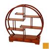Oriental Furniture Mingei Honey 19-in 6-Shelf Bookcase