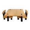 Oriental Furniture Tatami Chabudai Fine Natural Dining Set