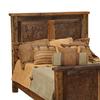 Fireside Lodge Furniture Barnwood King Headboard