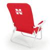 Picnic Time NCAA Nebraska Cornhuskers Steel Beach Chair