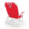 Picnic Time NCAA Wisconsin Badgers Cast Aluminum Folding Chair