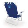 Picnic Time NCAA Duke Blue Devils Steel Beach Chair