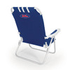 Picnic Time NCAA Ole Miss Rebels Steel Beach Chair