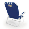 Picnic Time Navy NCAA Pittsburgh Panthers Steel Folding Beach Chair