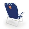 Picnic Time NCAA Syracuse Orange Steel Beach Chair
