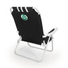 Picnic Time Black NCAA Colorado State Rams Steel Folding Beach Chair