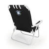 Picnic Time Black NCAA Uconn Huskies Steel Folding Beach Chair