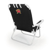 Picnic Time Black NCAA Maryland Terrapins Steel Folding Beach Chair